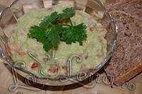 Guacamole (Pate de avocado) - Pas 6 Guacamole, Avocado, Pudding, Cooking Recipes, Vegan, Ethnic Recipes, Desserts, Food, Salads