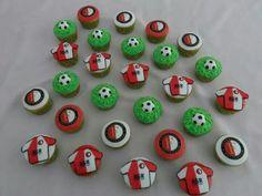 Feijenoord cupcakes