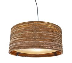 The Drum is a hand made pendant light which is created from scrap cardboard. The Drum Pendant light has a modern, contemporary feel to it and features a gl Drum Pendant, Pendant Chandelier, Pendant Lighting, Stairwell Chandelier, Light Pendant, Drum Ceiling Lights, Chandeliers, Demi Sphere, Led Röhren