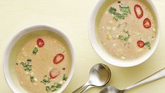 Thai-Style Grilled Corn Soup - Recipe - FineCooking