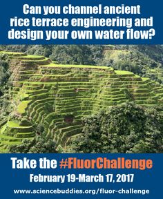 The Fluor Engineering Challenge for K-12 students starts February 19, 2017. Put the challenge on your classroom calendary today! Google Classroom teachers can assign reading material or the introductory video to get students started thinking about this year's #FluorChallenge. [Science Buddies, http://www.sciencebuddies.org/blog/2017/02/fluor-engineering-water-flow-challenge.php?from=Pinterest] #E-Week #eweek #engineering #waterflow #STEM #scienceeducation #classroomscience #scienceproject