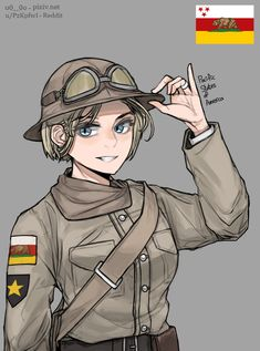 Anime Military, Military Girl, Comic Pictures, Manga Pictures, Military Archives, League Of Legends Comic, Character Art, Character Design, Post Apocalyptic Art