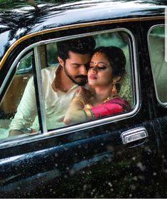 Kerala Wedding Photography, Wedding Couple Poses Photography, Autumn Photography, Girl Photography Poses, Cute Couple Poses, Couple Photoshoot Poses, Pre Wedding Photoshoot, Couple Portraits, Romantic Couple Kissing