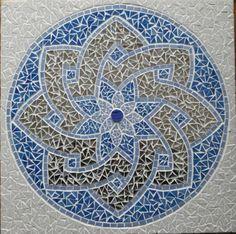 Rosace Mandala celtique