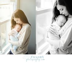 Tips for your newborn session... and some great photos  BEAUTIFUL mama and baby!