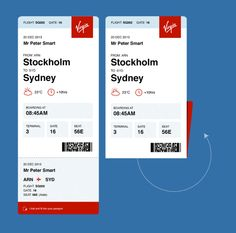 Redesigning the Boarding Pass Journal Boarding Pass