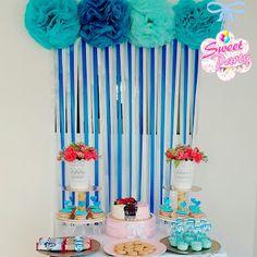 Sweet Party Decoraciones: Decoración con pompones