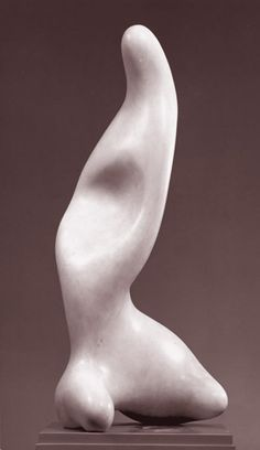 Jean Arp — It amazes me how Arp was able to suggest so much with his pared-down simple forms.