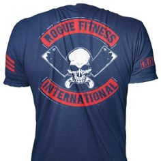 Rogue Blue International Shirt - Rogue Fitness Apparel