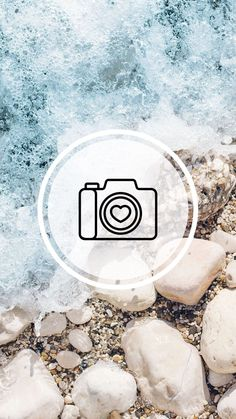 Pin on Story Highlights Feed Do Instagram, Instagram Beach, Instagram Logo, Free Instagram, Instagram Story Ideas, Instagram Accounts, Beach Highlights, Story Highlights, Beach Icon