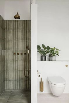 Lawless Design rounds up some modern eclectic bathrooms that use tile in unique cool ways #interiordesign #bathroomdesign #bathrooomideas #tileideas Bathroom Inspo, Bathroom Inspiration, Bathroom Ideas, Earthy Bathroom, Interior Inspiration, Bathroom Organization, Nature Bathroom, Eclectic Bathroom, Budget Bathroom