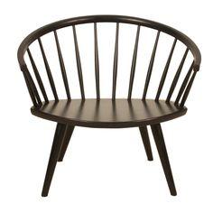 Swedish Yngve Ekström wooden chair // sweden 1950's