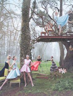 Dior Secret Garden 2 — Versailles by Inez & Vinoodh