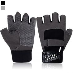 Trideer Weight Lifting Glove Gym Glove with Adjustable Wrist Support Light Microfiber & Anti-Slip Silica Gel Grip Glove for Workout Training Fitness Bodybuilding and Exercise Men & Women Best Weight Lifting Gloves, Weight Lifting Workouts, Gym Workouts, Cycling Workout, Workout Exercises, Gym Gloves, Workout Gloves, Cycling Gloves, Ankle Weights