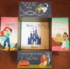 Disney care package.