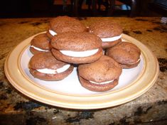 Whoopie Pies With 7 Minute Frosting Recipe - Genius Kitchensparklesparkle