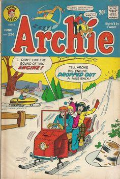 Archie 226, Archie Comic Publications, Inc. https://www.pinterest.com/citygirlpideas/archie-comics/