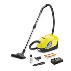 Bagless Vacuum Cleaning With The Karcher DS Water Filter Vacuum. Just Add Water For Optimal Air Filtration And Floor Cleaning Performance.