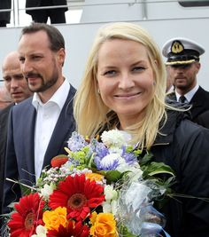Prince Haakon - Princess Mette-Marit and Prince Haakon of Norway Visit Northern Germany