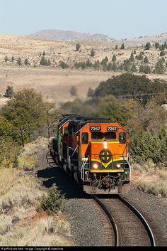RailPictures.Net Photo: FURX 7257 First Union Rail (FURX) EMD SD40-2 at South Junction, Oregon by Indecline