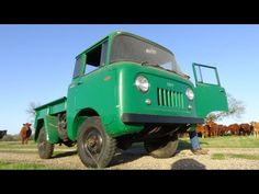 1962 Willys Jeep FC-150 Forward Control 4-Wheel-Drive Classic Texas Barn Find 4x4 Truck - YouTube