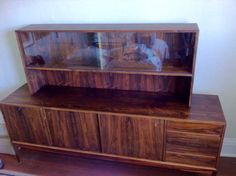 Gorgeous rosewood sideboard, in the mid-century modern design via UsedVictoria