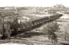 Salamanca, Puente Romano sobre el Tormes, 1982