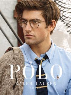 Ralph Lauren Looks, Ralph Lauren Style, Polo Ralph Lauren, Black Men Street Fashion, Preppy Mens Fashion, Der Gentleman, Gentleman Style, Preppy Hairstyles, Ralph Lauren Glasses