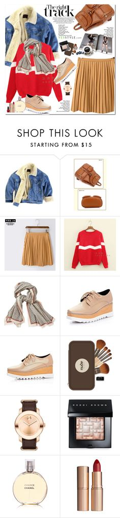 """""""Annual Sale - Yesstyle.com"""" by oshint ❤ liked on Polyvore featuring BeiBaoBao, Mushi, Aigle, Movado, Bobbi Brown Cosmetics, Chanel, Charlotte Tilbury, OPI, beautiful and lovely"""