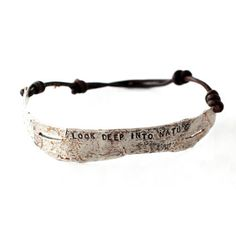 Birch Bracelet Oxidized Silver now featured on Fab.