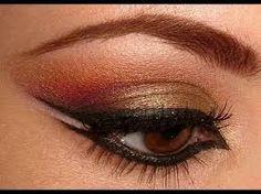 Image result for eye makeup for belly dance