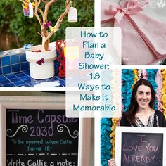 Share on Facebook Share 23 Share on Pinterest Share 102 Share on TwitterTweet Share on Google Plus Share 0 Share on LinkedIn Share 0 Send email Mail  How to Plan a Baby Shower: 18 Ways to Make it Memorable Gone are the days (I hope) of smashed up chocolate bars and taste testing baby food. …