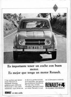 """Renault 4 """"un buen motor""""  Cambio e-shop por Renault 4 en regla"""