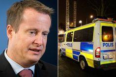Sverige i botten för polistäthet i EU – Ygeman försvarar