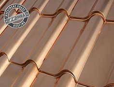 Copper roof!