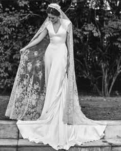 Wedding Looks, Bridal Looks, Bridal Style, Dream Wedding Dresses, Bridal Dresses, Bridesmaid Dresses, Dream Dress, The Dress, Wedding Bells