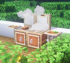 Minecraft Beach House, Minecraft Garden, Minecraft House Plans, Minecraft Farm, Minecraft Houses Survival, Minecraft Cottage, Easy Minecraft Houses, Minecraft House Tutorials, Minecraft Modern