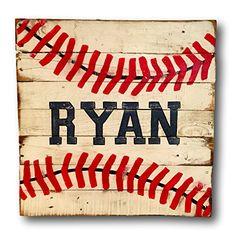 Amazon.com: Customer Reviews: Baseball Sign / Vintage Wood Sports Sign / Boys Bedroom Decor