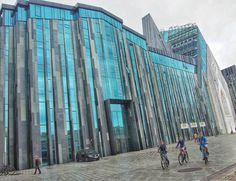 Universität Leipzig - one of the more impressive new buildings in Leipzig.  #germany #leipzigcity