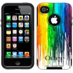 Otterbox Commuter Series Melting Wax Hybrid Case for iPhone 4