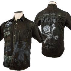 Custom Skull Shirt WSCS-343 RTS