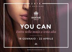 Ci siamo!!! Oggi la IV edizione del concorso Miss Degradé apre le sue porte sul mondo della moda. La chiamata alla bellezza inizia adesso – lascia rispondere il tuo stile! Scopri il regolamento e scegli di regalarti un'esperienza indimenticabile! www.missdegrade.it #cdj #degradejoelle #missdegrade #degradé #igers #shooting #musthave #hair #hairstyle #haircolour #haircut #longhair #ootd #hairfashion