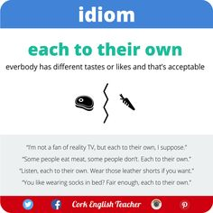 Do you have a similar expression in your language? #idiom #english #elt #expression #fce