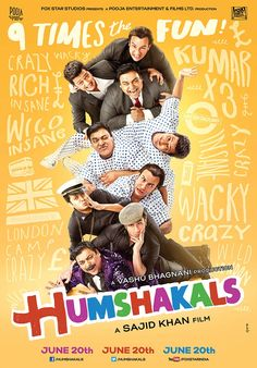 Humshakals full HD movie Watch & Download Online Free torrent link Humshakals is a Bollywood comic caper film directed by Sajid Khan and produced by Vashu Bhagnani. Humshakals is a comedy centered around three people who each have a lookal