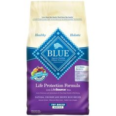 Blue Chk Toy Breed Adult 4Lb