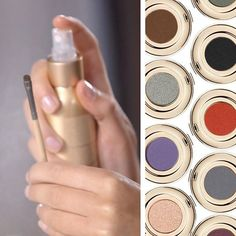 Beauty Tip: For eyeliner in any shade, spritz any eyeliner brush with your favorite Hydration Spray, then use it to apply any PurePressed Eye Shadows as a liner for a look that won't budge!