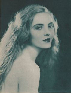 Silent film star Dorothy Mackaill in Photoplay magazine, April 1924