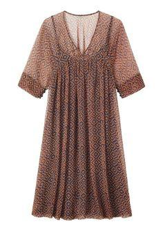 Women's ADWOA CHIFFON DRESS