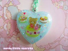 Pastel Rilakkuma Sweets Necklace by NerdyLittleSecrets on Etsy, $15.00