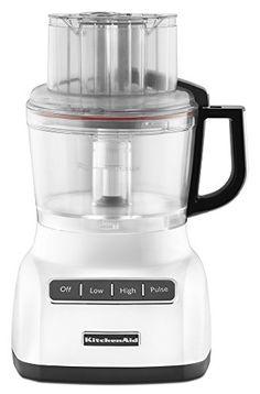 KitchenAid KFP0922WH 9-Cup Food Processor with Exact Slic...